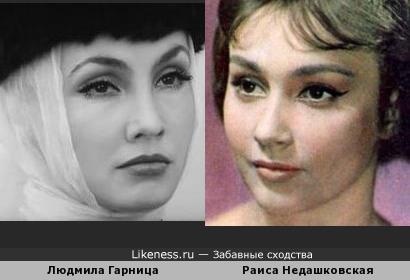 Людмила Гарница и Раиса Недашковская