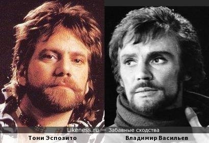 Тони Эспозито и Владимир Васильев