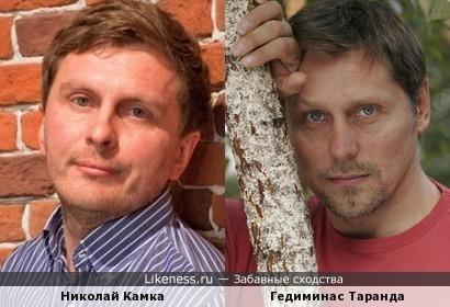 Николай Камка и Гедиминас Таранда