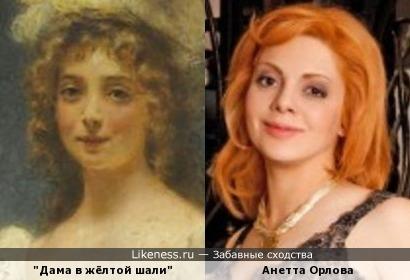 Дама на портрете Константина Маковского напомнила Анетту Орлову