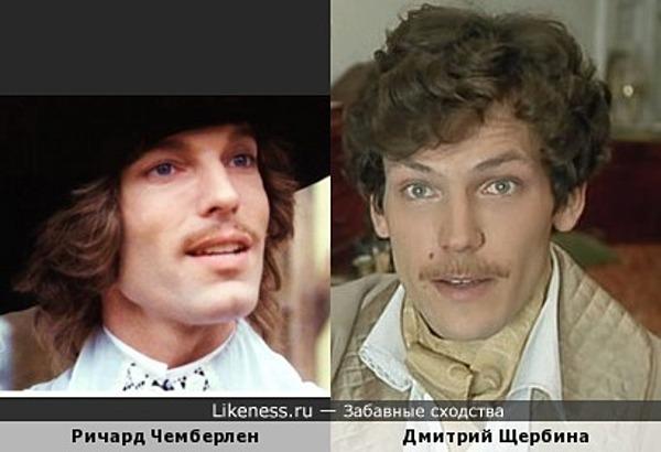 Ричард Чемберлен и Дмитрий Щербина