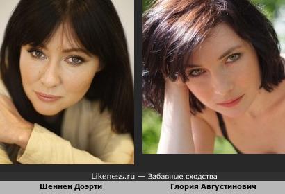 Шеннен Доэрти и Валерия Августинович