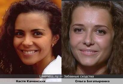 Певица Настя Каменских и учасница украинского вокального шоу Х-Фактор похожи