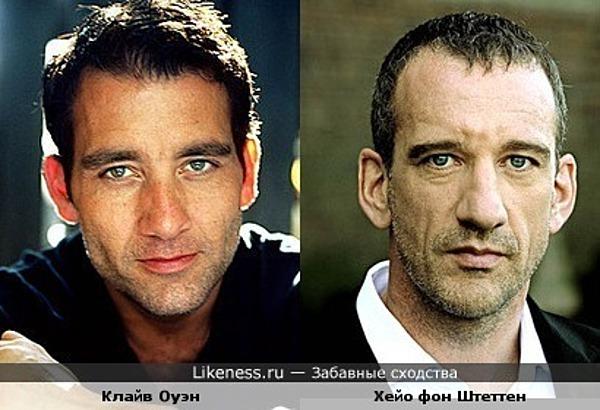 Английский и немецкий актёры похожи