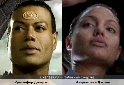 Кристофер Джадж похож на Анджелину Джоли