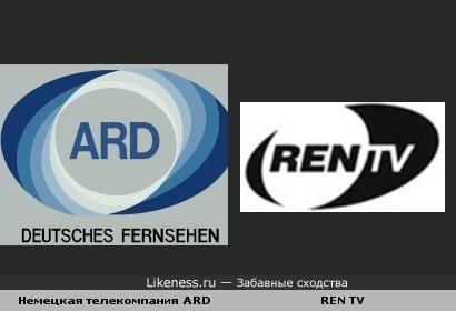 RENTV похожа на ARD