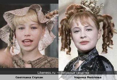 Всегда думал, что Пеппи Длинный Чулок играла Марина Неёлова