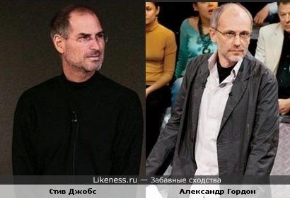 Ген.директор Apple похож на российского теле-ведущего