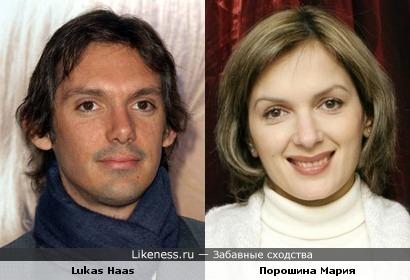 Порошина Мария vs косоглазие Lukas Haas