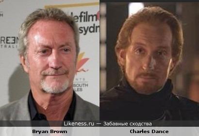 Брайан Браун vs Чарльз Дэнс
