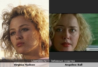 Вирджиния Мэдсен vs Анджелин Болл