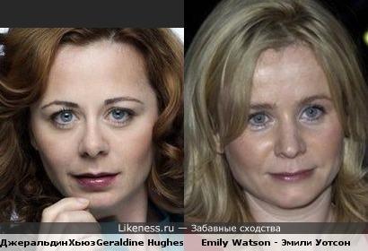 Geraldine Hughes vs Emily Watson