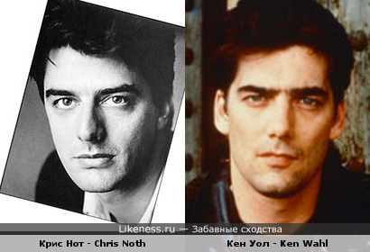 Chris Noth vs Ken Wahl