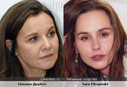 Татьяна Друбич vs Tara Fitzgerald