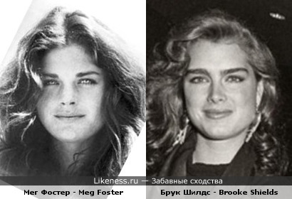 Meg Foster vs Brooke Shields