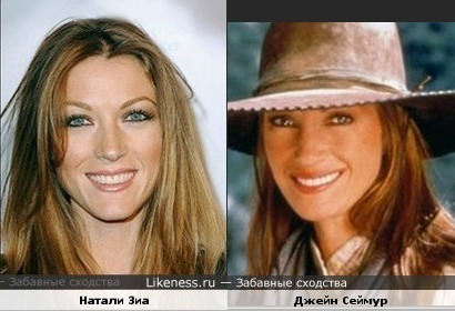 Natalie Zea vs Jane Seymour