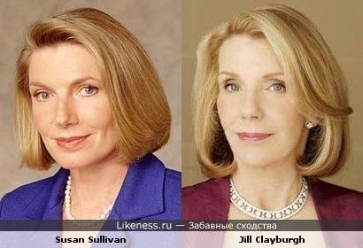 актрисы: Сьюзэн Салливан vs Джилл Клейбёрг