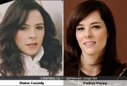 Актрисы: Элейн Кэссиди vs Паркер Поузи