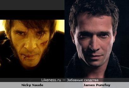Актеры: Никки Нод vs Джеймс Пьюрфой