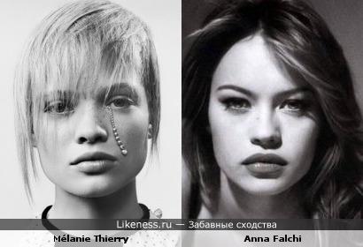 Мелани Тьерри vs Анна Фальчи