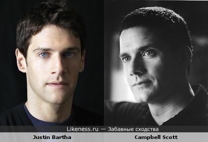 Кэмпбелл Скотт vs Джастин Барта