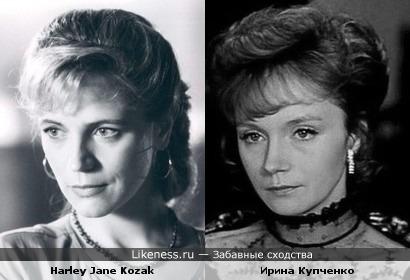 Джейн Козак vs Ирина Купченко