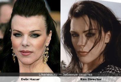 Деби Мейзар vs Ким Директор