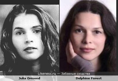 Джулия Ормонд vs Дэльфин Форест