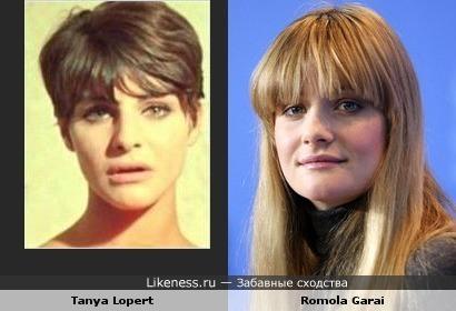 Таня Лопер vs Ромола Гарай