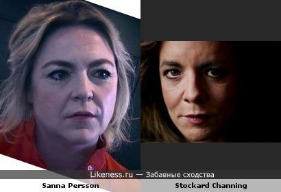 Сэнна Перссон vs Стоккард Чэннинг