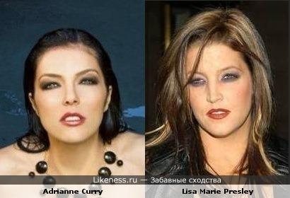 Эдриан Карри vs Лиза Мари Пресли