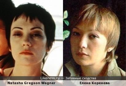 Наташа Грегсон Вагнер vs Елена Коренева