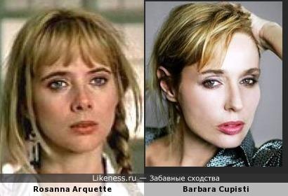 Розанна Аркетт vs Барбара Куписти