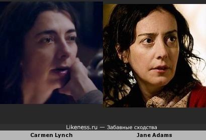 Кармен Линч vs Джейн Адамс