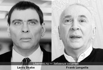 Ларри Дрэйк vs Фрэнк Ланджелла