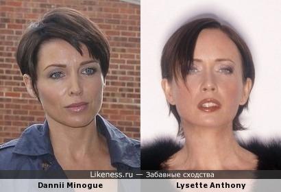 Данни Миноуг vs Лизетт Энтони