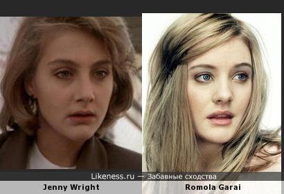 Дженни Райт vs Ромола Гарай