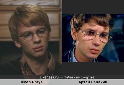 Девон Грайе vs Артем Семакин