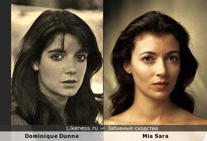 Доминик Данн vs Миа Сара
