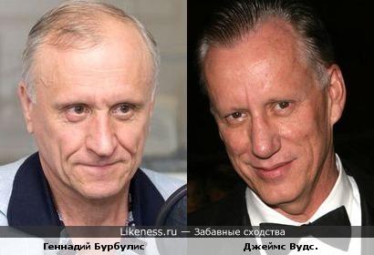Геннадий Бурбулис похож на Джеймса Вудса