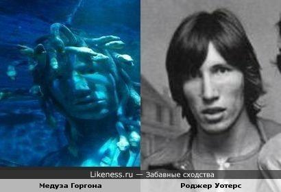 Роджер Уотерс в образе подводной Медузы Горгоны