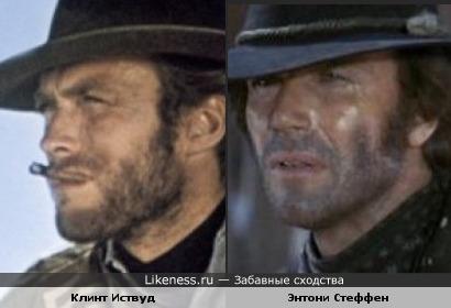 Энтони Стеффен и Клинт Иствуд
