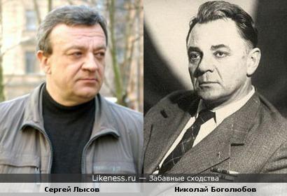 Актёры Николай Боголюбов и Сергей Лысов