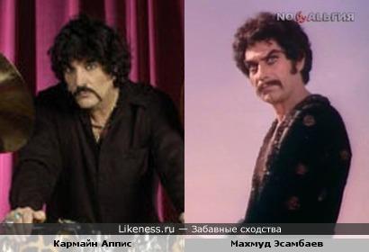 Махмуд Эсамбаев в образе и ударник Кармайн Аппис