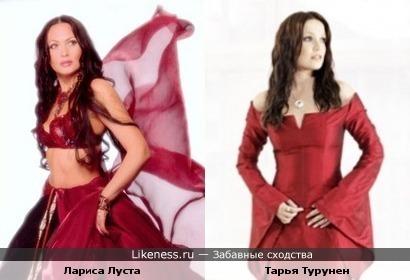 Лариса Луста и экс-солистка NIGHTWISH Тарья Турунен