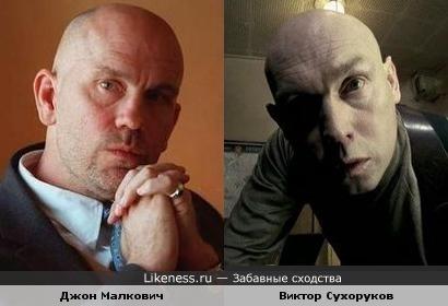 Актёры Джон Малкович и Виктор Сухоруков