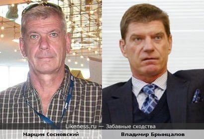 Миллионер Владимир Брынцалов и актёр Марцин Сосновский