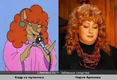 """Мария Аронова в образе и Лисица из м/ф """" Ну, погоди.."""""""