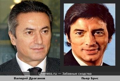 Депутат Валерий Драганов и актёр Пьер Брис