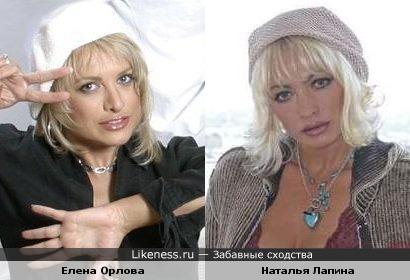 Знаток Елена Орлова ( Что? Где? Когда?) и актриса Наталья Лапина